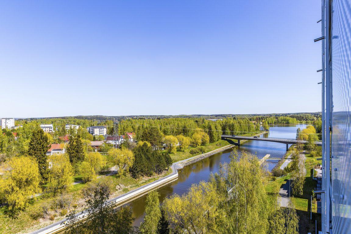 Pohjoisviitta näkymä kanavalle