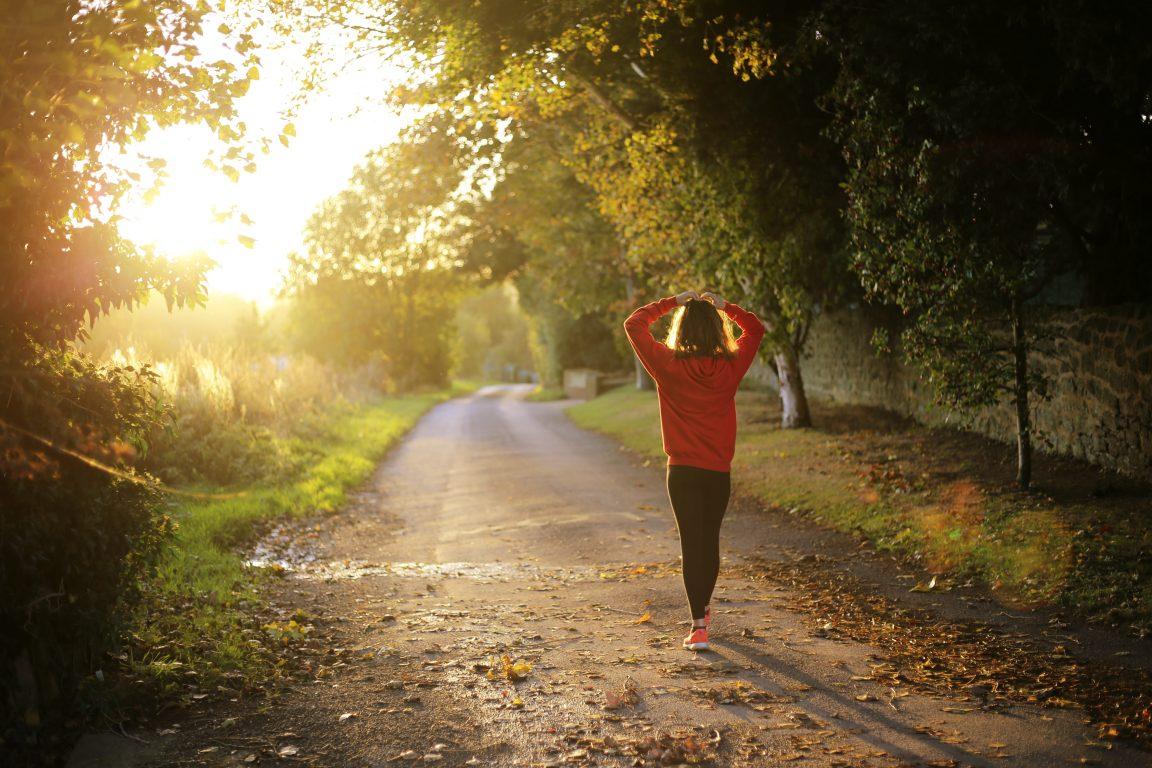 Juoksu kuvituskuva