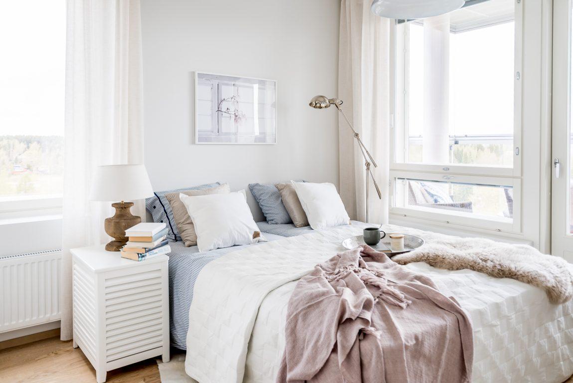 Pohjoisviitta makuuhuone