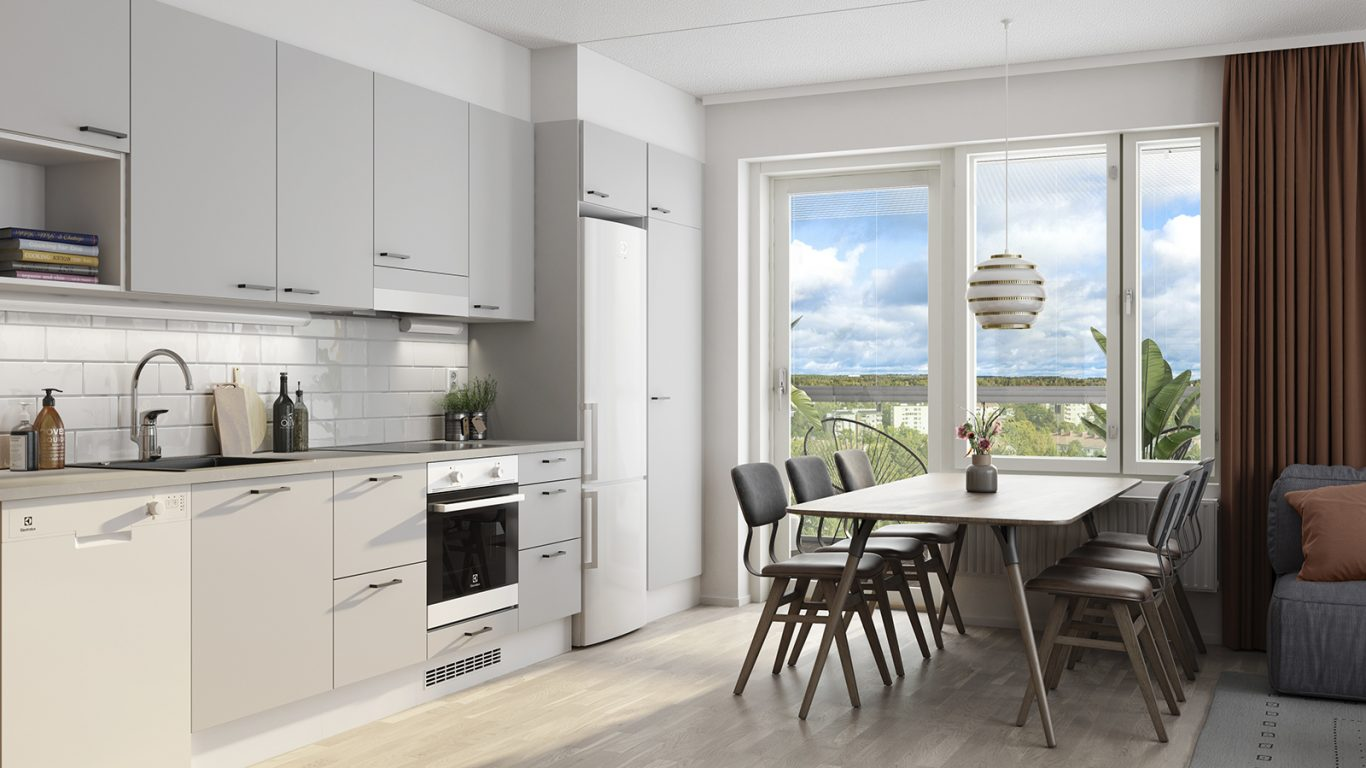 Nokian Puisto-Estradi keittiö